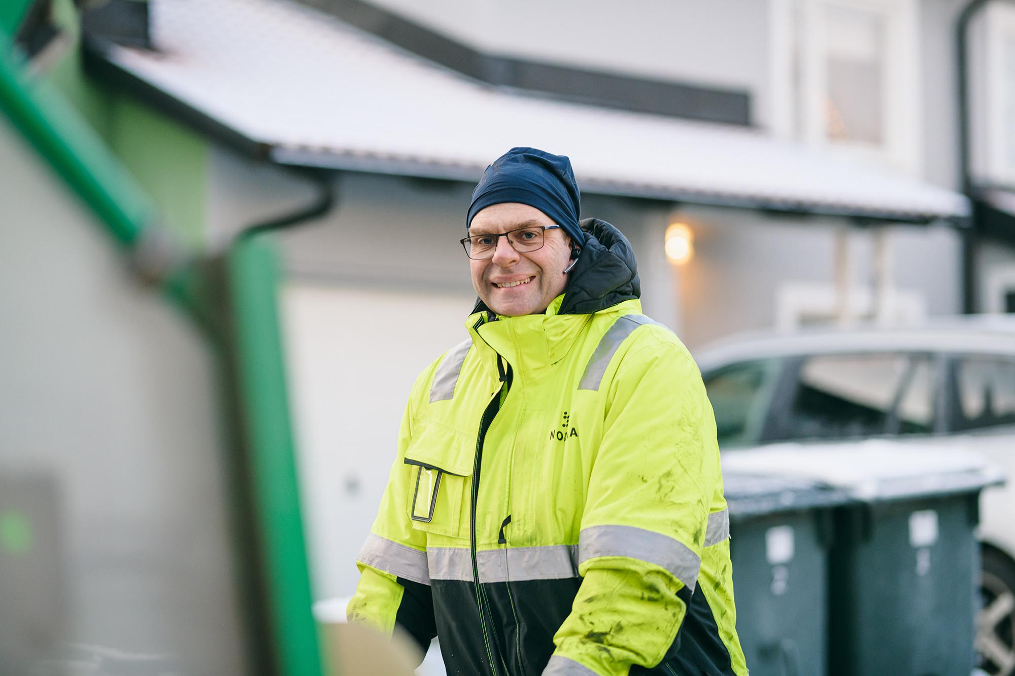 Miljöarbetare från Nodra