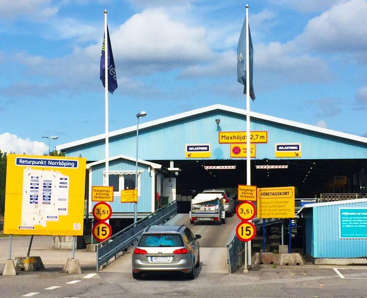 Returpunkten i Norrköping